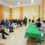 Alcalde atiende necesidades y requerimientos de la parroquia San Fernando