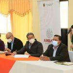 Municipalidades de Ambato atiende necesidades de la parroquia Montalvo