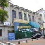Municipalidad inicia trabajos de liberación en balcón del edificio patrimonial centro