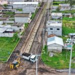 Municipalidad de Ambato ejecuta asfaltado en dos calles de la parroquia Pilahuín