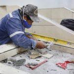 Trabajos en sección mariscos del mercado Simón Bolívar por concluir