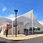 Municipalidad construirá moderna cubierta en el parque central de Montalvo