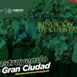 Alcalde de Ambato rinde cuentas a la ciudadanía el miércoles 9 de junio