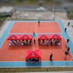 Moradores del barrio La Unión de Totoras cuentan con nuevas canchas deportivas
