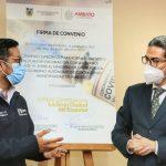 Municipalidad y Ministerio de Salud buscan acelerar vacunación en Ambato