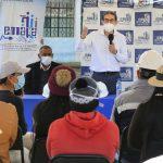 Alcalde verificó avance de alcantarillado sanitario en Totoras y Montalvo