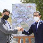 Alcalde entrega 6.2 kilómetros de vías asfaltadas en el Parque Industrial Ambato