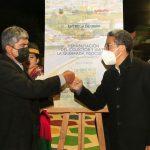 Alcalde entregó obra vial y rehabilitación en la quebrada Pisocucho