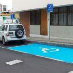 Ambato más inclusivo con 25 espacios de estacionamiento para personas con discapacidad.
