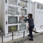 Cementerios municipales reciben visitas con medidas de bioseguridad y aforo