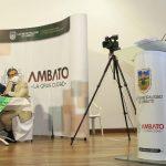 Municipalidad atiende pedidos de la Red de Plazas y Mercados de Ambato