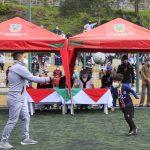 Municipalidad incentiva práctica del deporte en niñez ambateña