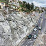 Municipalidad concluye 7 mil metros de muros de contención en Ambato