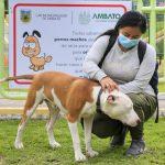 40 inscritos en curso de adiestramiento canino de la Municipalidad de Ambato