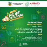 Concurso de proyectos 'Ponte Pilas Guaytambo' con más de 60 participantes
