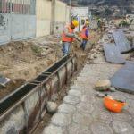Municipalidad da mantenimiento de veredas, calles y rompe velocidades