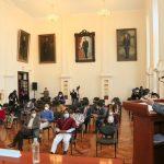 Alcalde atiende peticiones de la ciudadanía en audiencia pública