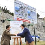 Municipalidad entregó 5.268 m2 de muros de contención