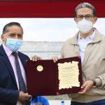Cunchibamba recibió obras de salubridad y fomento deportivo