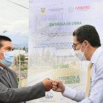Alcalde de Ambato y Viceministra del Ambiente dialogan sobre proyectos sanitarios