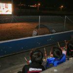 'Cine al Parque' llega a las familias de la parroquia rural Santa Rosa.