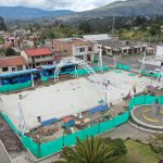 Remodelación del parque de Montalvo con 70% de avance