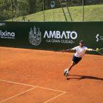 Domingo inicia el ATP Challenger  Tour 'Ambato La Gran Ciudad'
