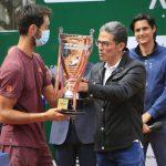 Argentino Tirante primer ganador del ATP Challenger Tour 'Ambato La Gran Ciudad '.