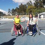 Ambato sede del campeonato de tenis en silla de ruedas