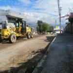 Calle Azuay habilitada en los próximos días.