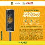 COE Cantonal ratifica semáforo amarillo en Octubre